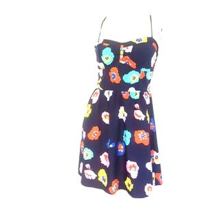 American Eagle Outfitters Navy and floral dress 10